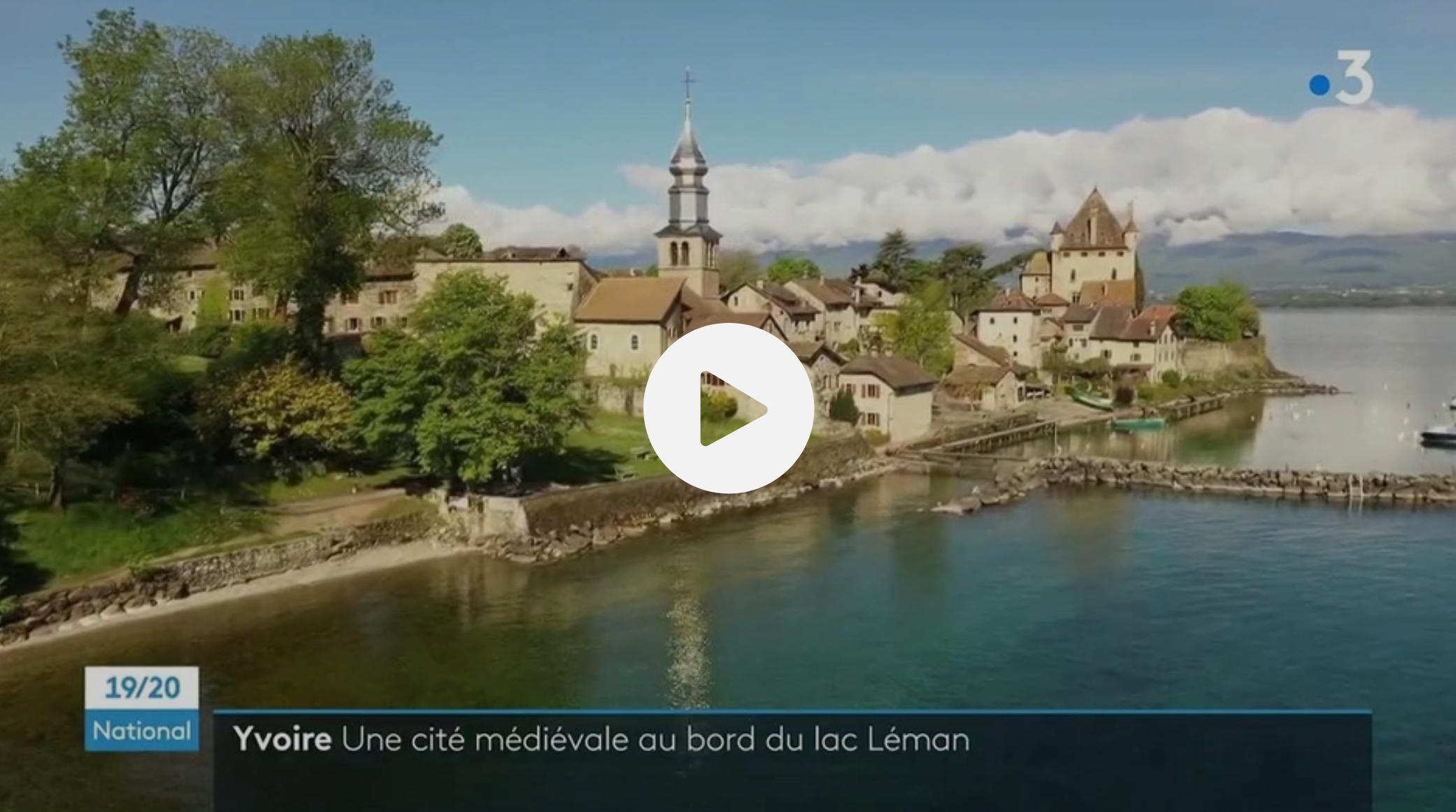 Haute-Savoie : la cité médiévale d'Yvoire, la perle du lac Léman