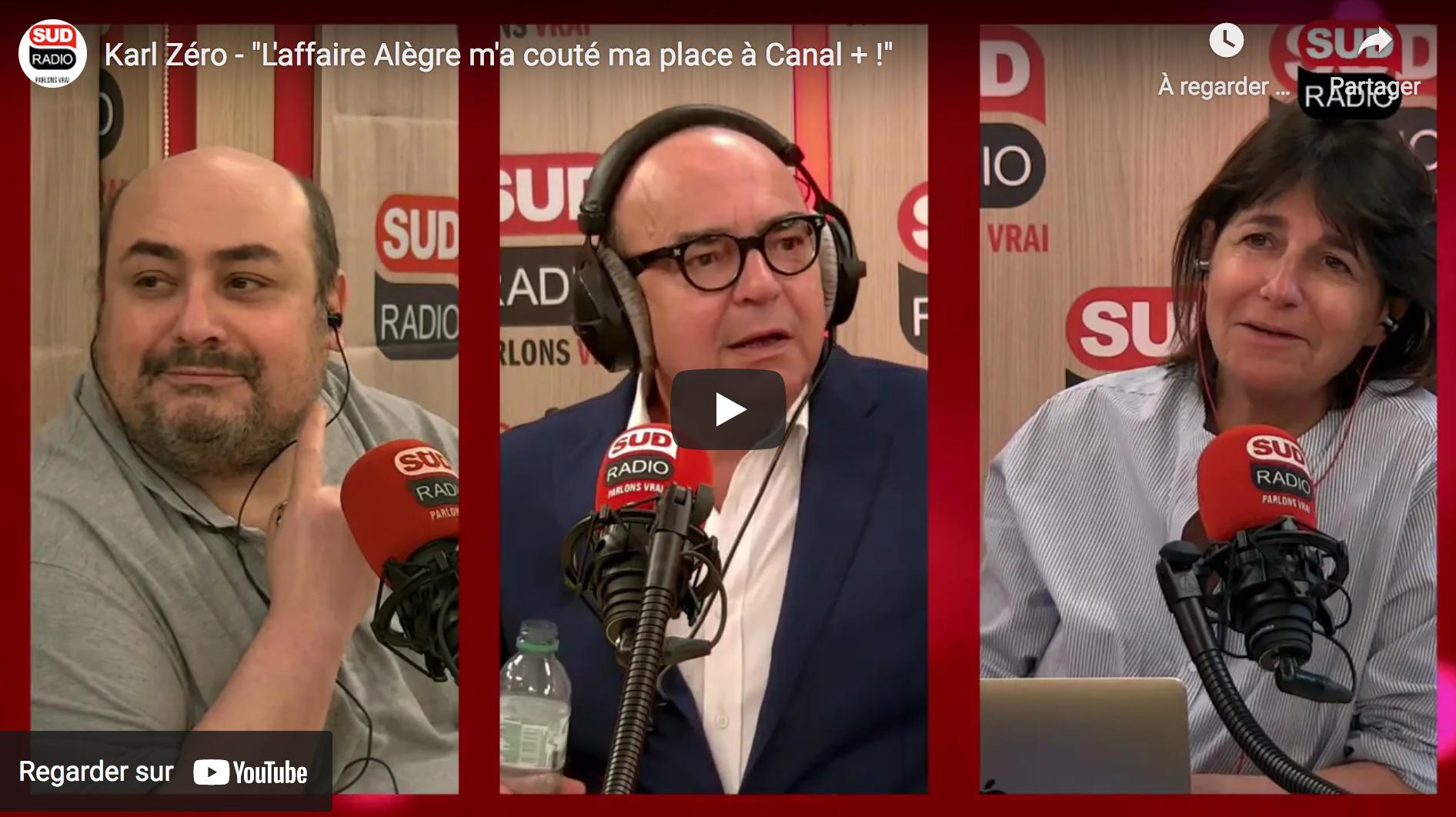"""Karl Zéro : """"L'affaire Alègre m'a couté ma place à Canal + !"""" (VIDÉO)"""