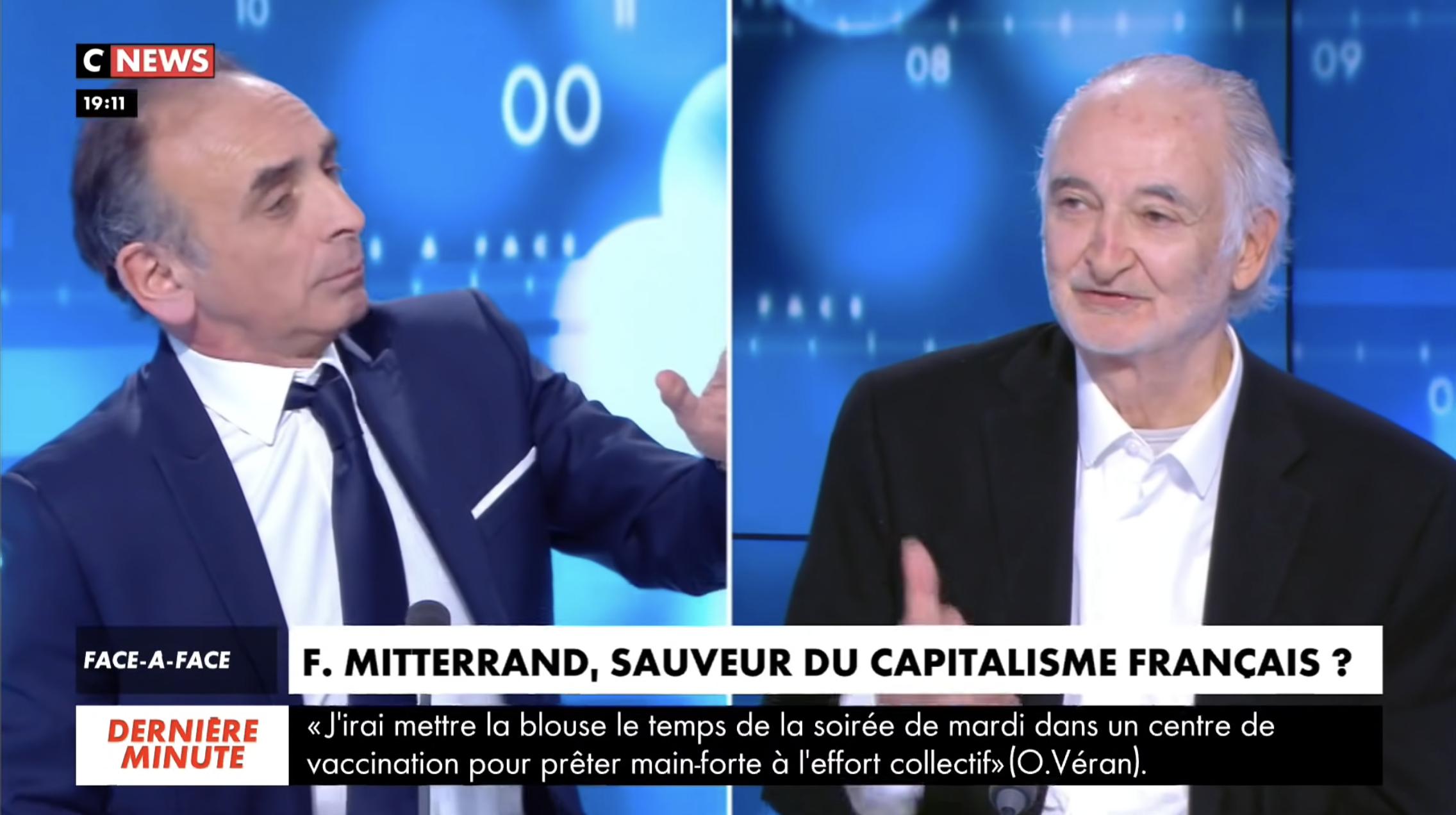 Face-à-Face Éric Zemmour VS Jacques Attali (DÉBAT)