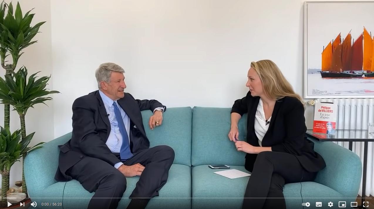 ISSEP : Marion Maréchal rencontre Philippe de Villiers (ENTRETIEN)