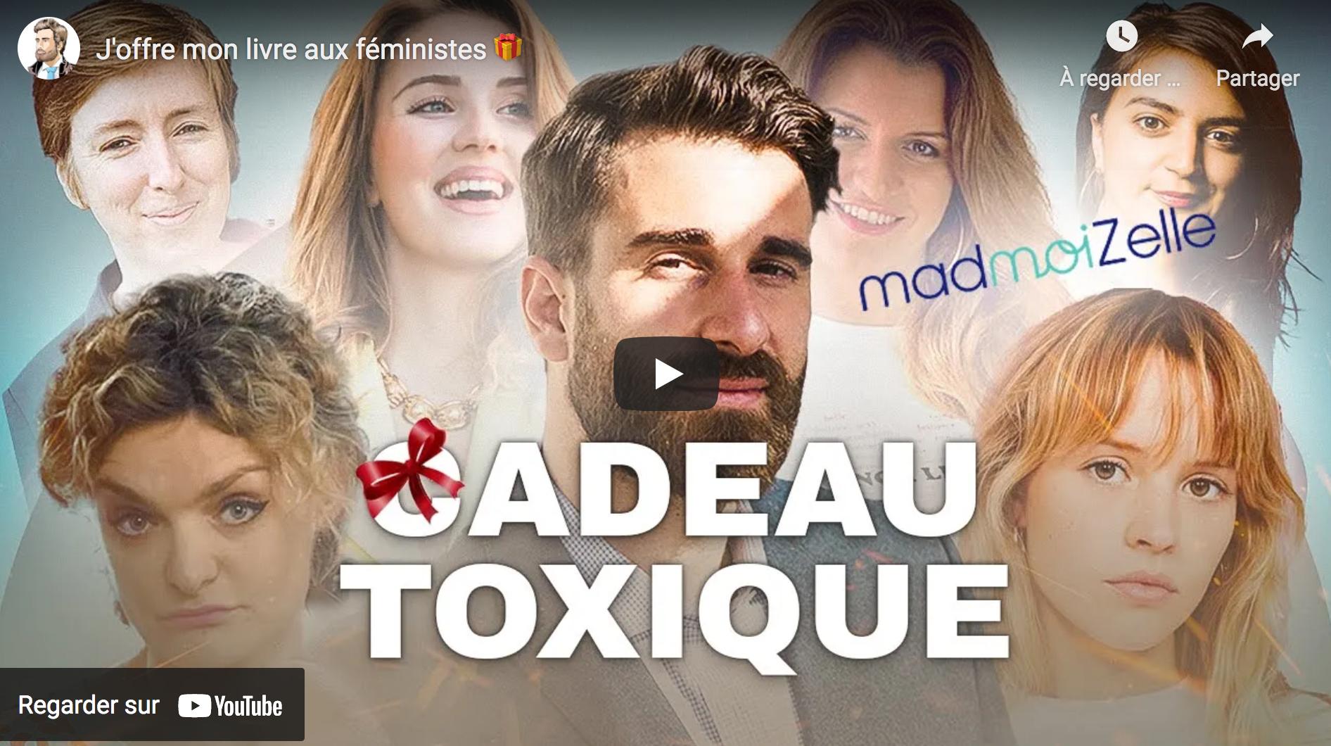 """Julien Rochedy : """"J'offre mon livre aux féministes"""" (VIDÉO)"""