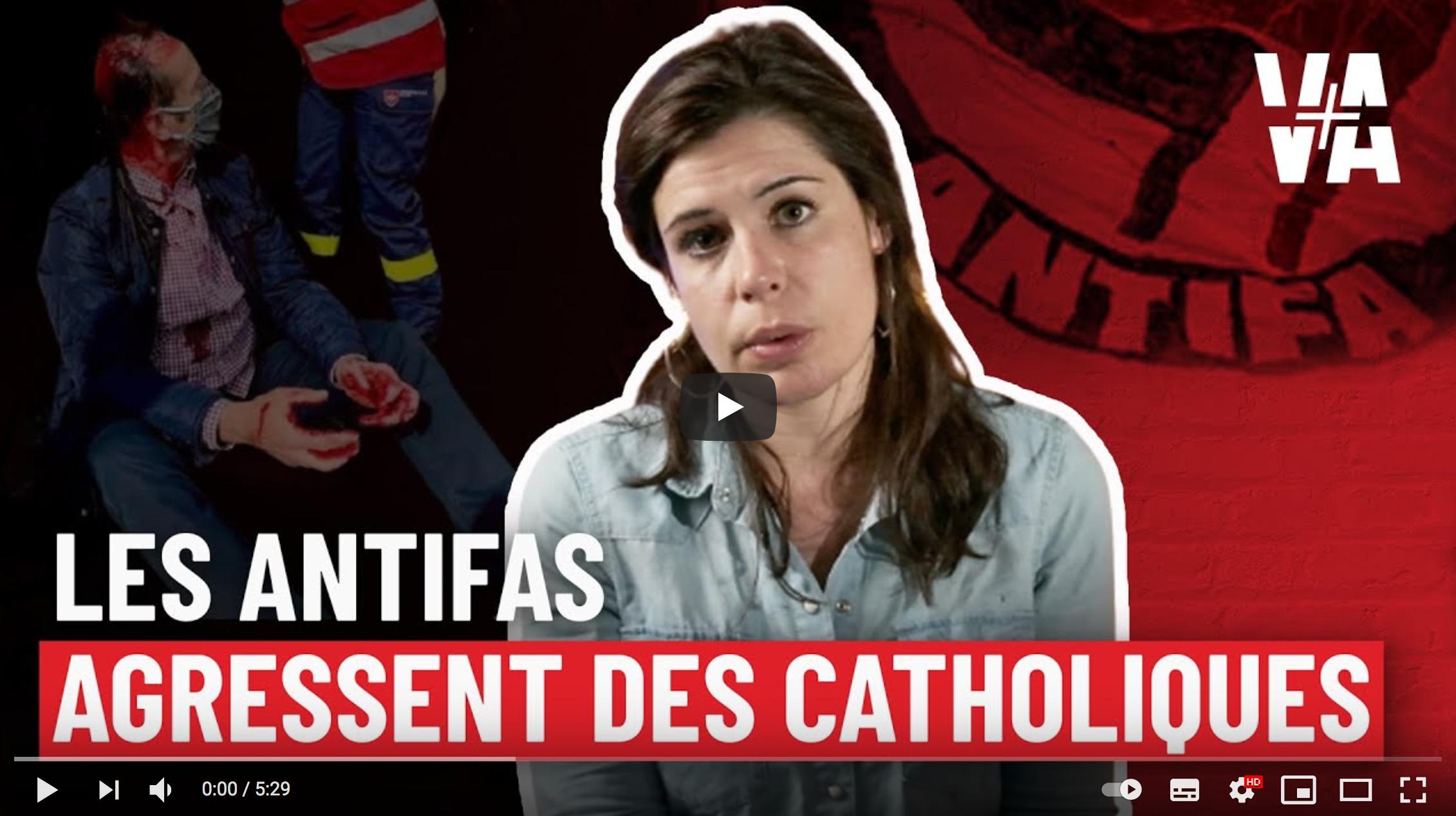 Martyrs de la Commune : Les antifas attaquent les catholiques (Charlotte d'Ornellas)