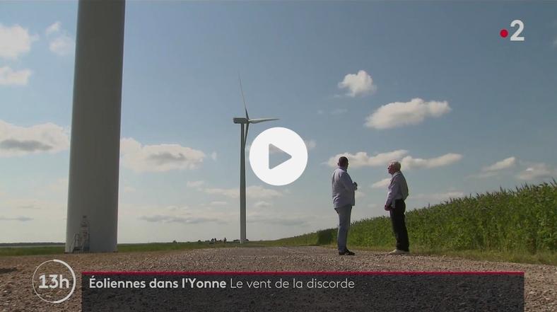 Yonne : la guerre des éoliennes (REPORTAGE)