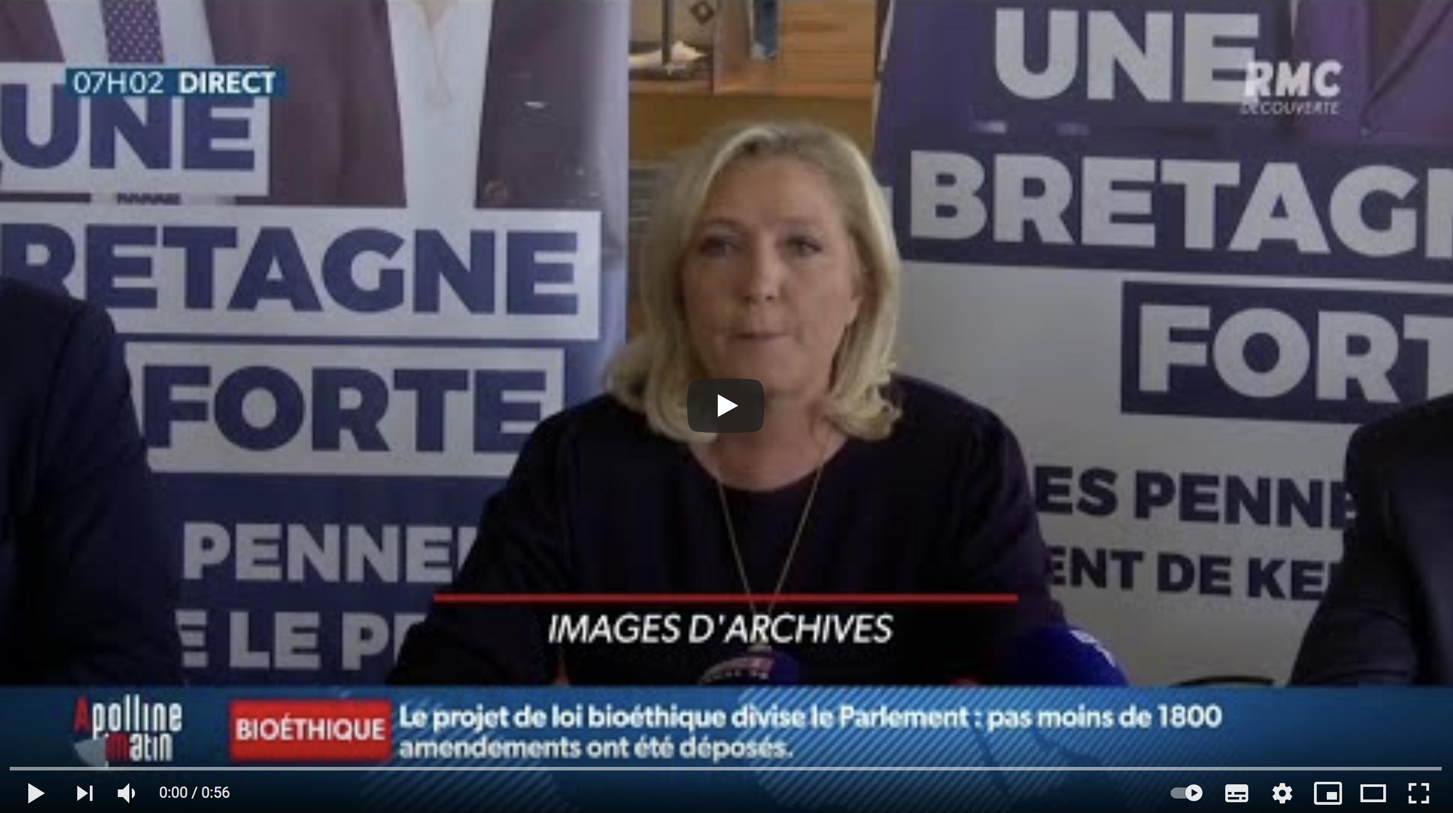 Éric Zemmour candidat ? Le Rassemblement National met en garde l'éditorialiste (VIDÉO)