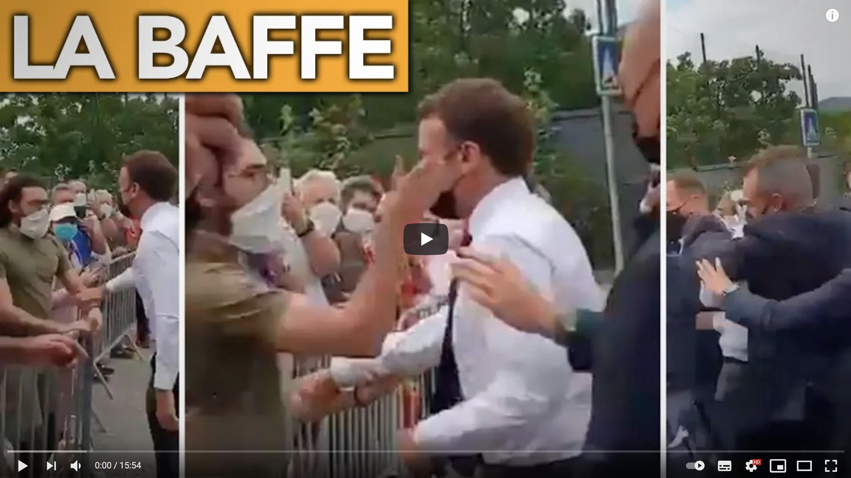 Macron se prend une gifle : l'analyse de Florian Philippot (VIDÉO)