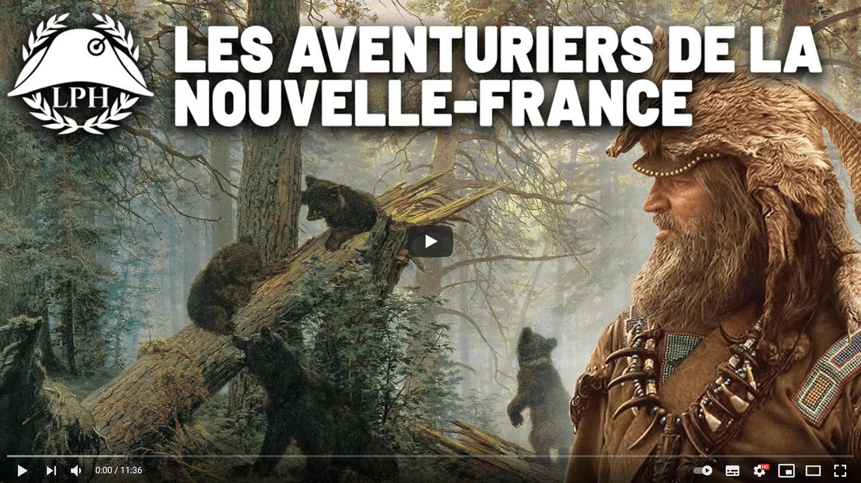 Les coureurs des bois, aventuriers de la Nouvelle-France (La Petite Histoire)