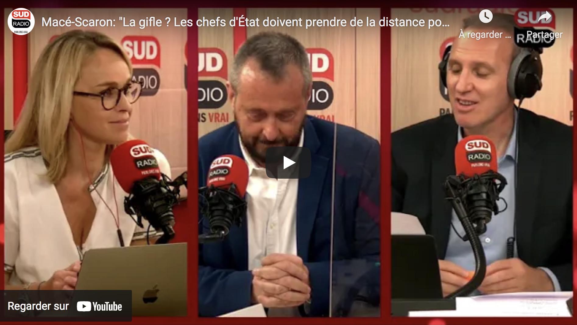 """Joseph Macé-Scaron : """"La gifle ? Les chefs d'État doivent prendre de la distance pour symboliser l'autorité"""" (VIDÉO)"""