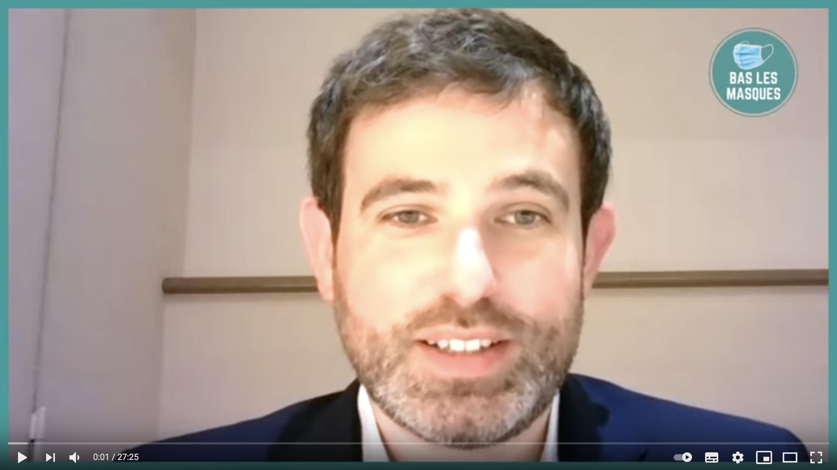 Alexandre Langlois, candidat à la présidentielle pour défendre les libertés publiques (VIDÉO)