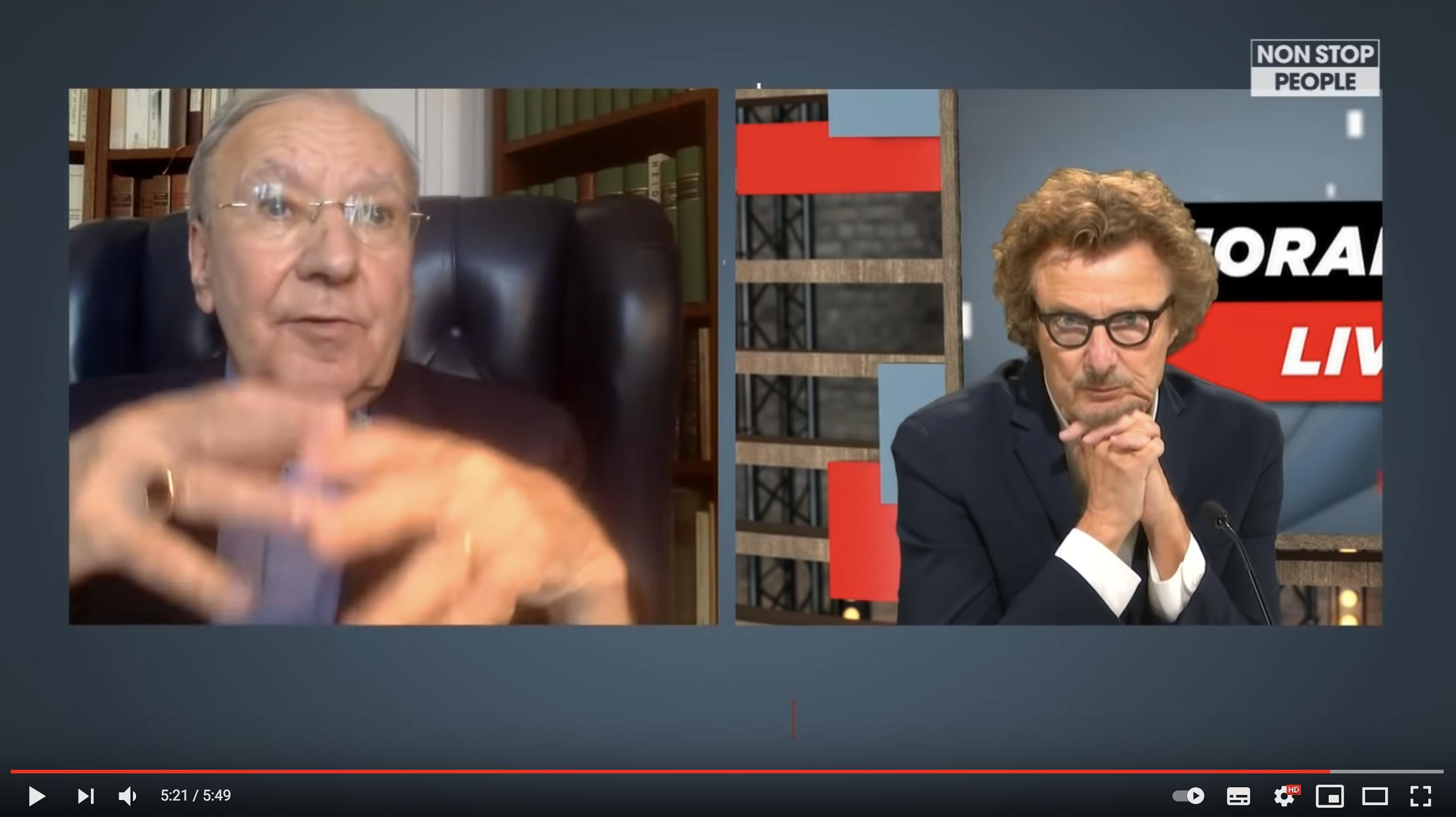 Emmanuel Macron giflé : Michel Maffesoli VS Claude Posternak (VIDÉO)
