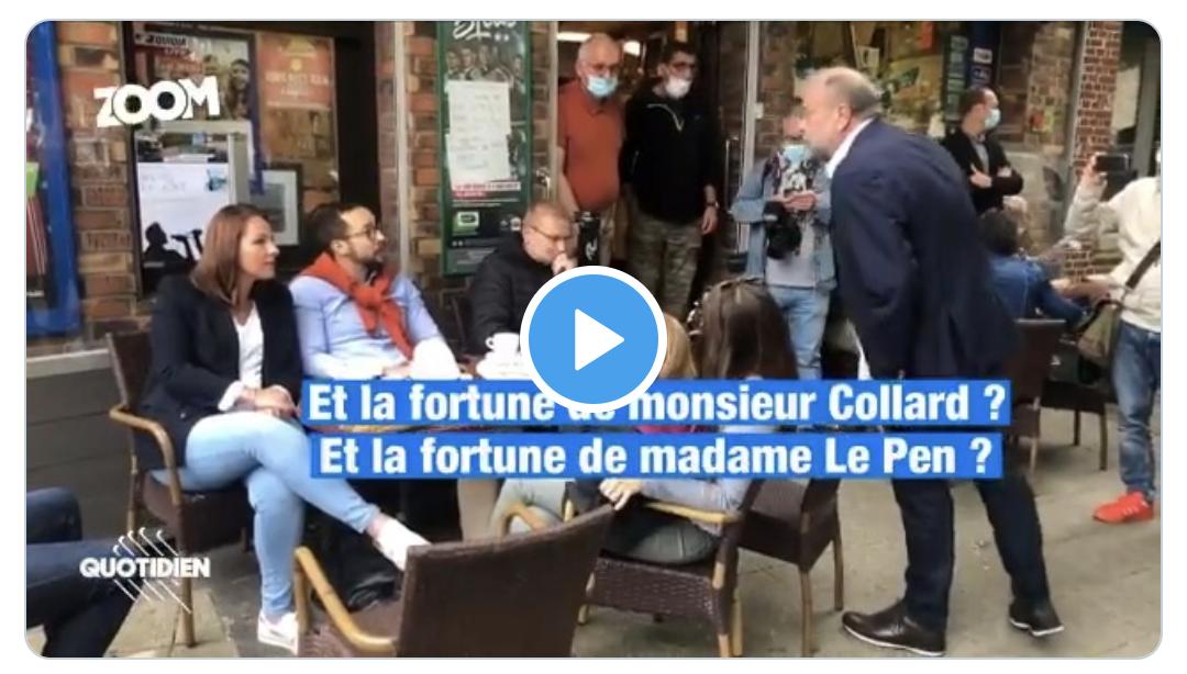 """Les pseudo-rebelles de """"Quotidien"""" tentent de sauver le soldat Dupont-Moretti en diffusant la totalité de l'échange avec Damien Rieu (VIDÉO)"""