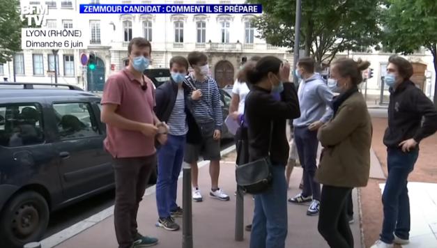 Élection présidentielle 2022 : Rencontre avec ces jeunes qui militent déjà pour Éric Zemmour (REPORTAGE)
