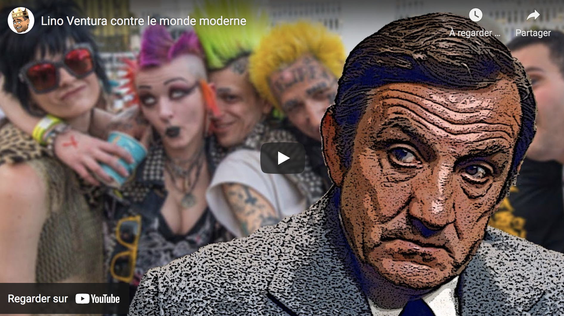 Lino Ventura contre le monde moderne (VIDÉO)