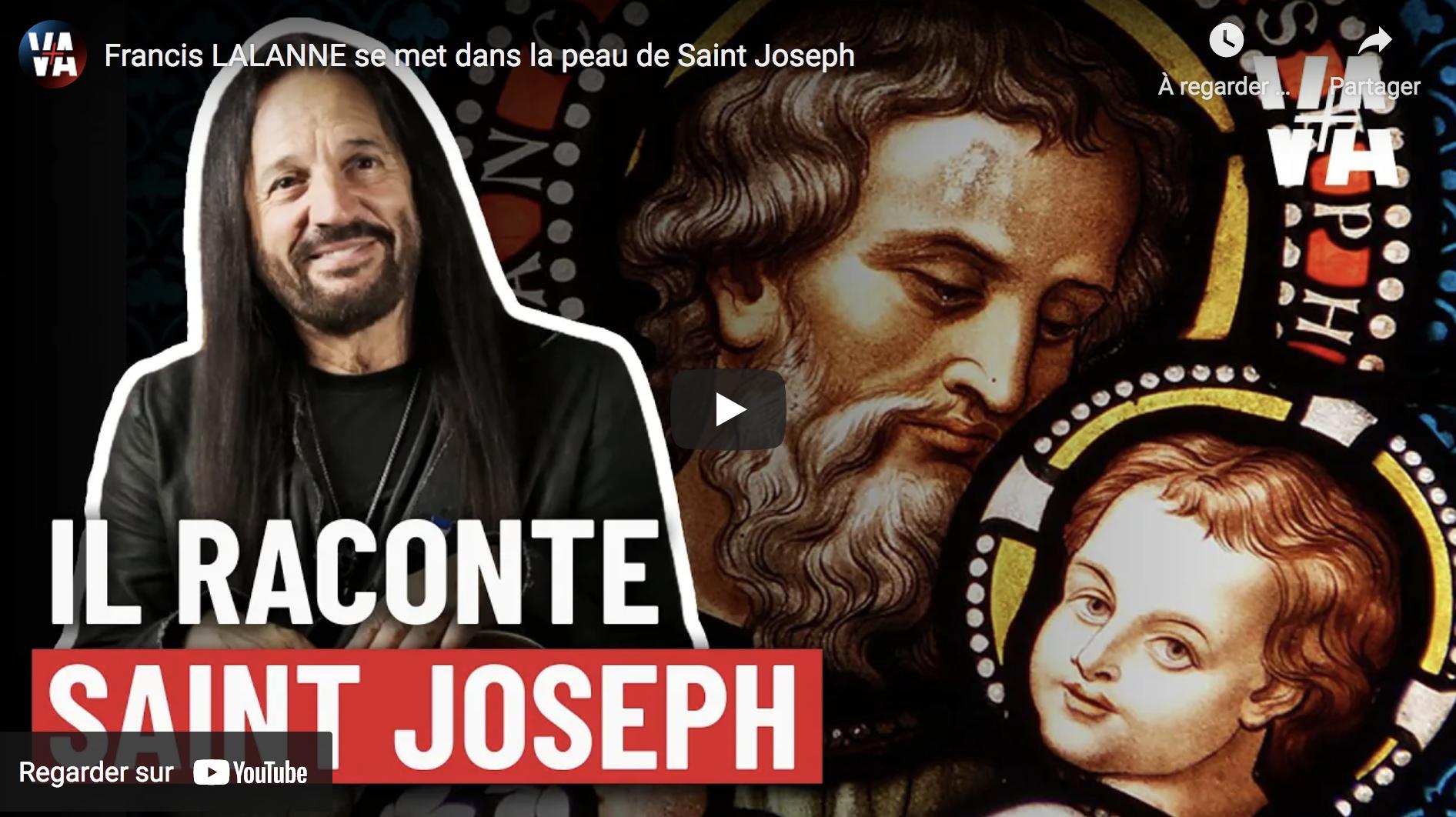 Francis Lalanne se met dans la peau de saint Joseph (VIDÉO)