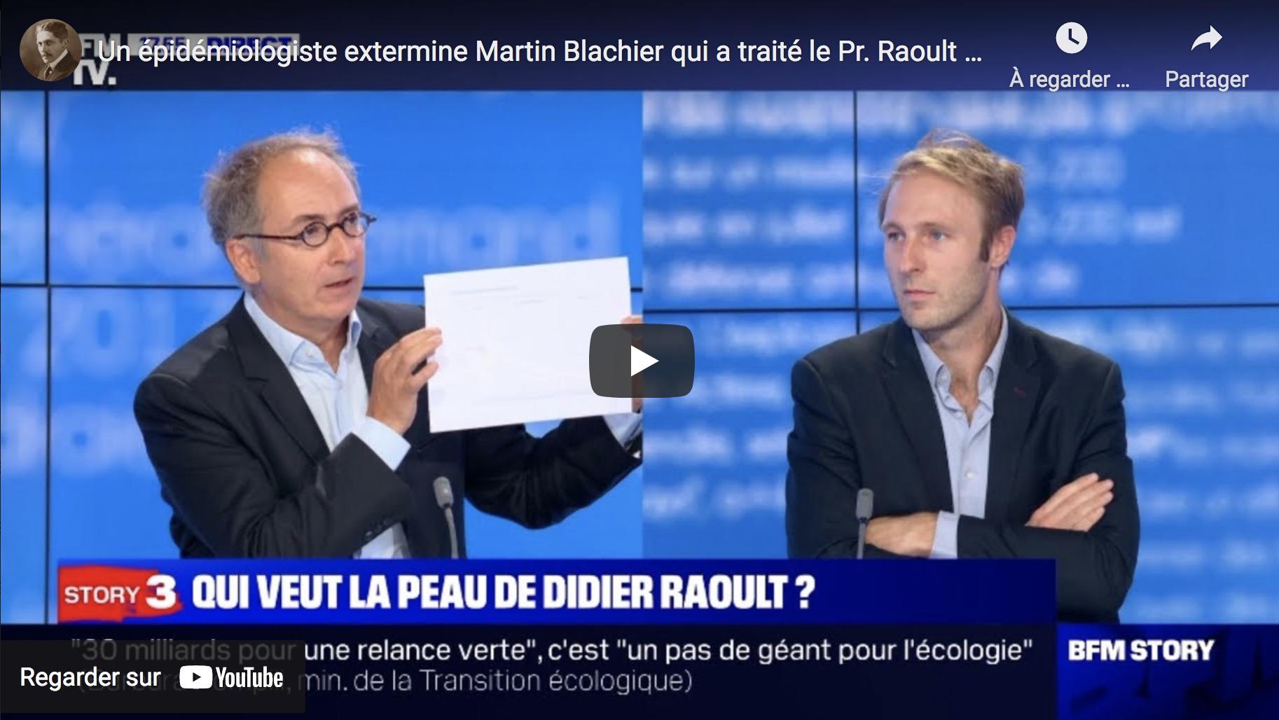 """L'épidémiologiste Laurent Toubiana VS le Dr Martin Blachier qui a traité le Pr Raoult de """"charlatan"""" (VIDÉO)"""