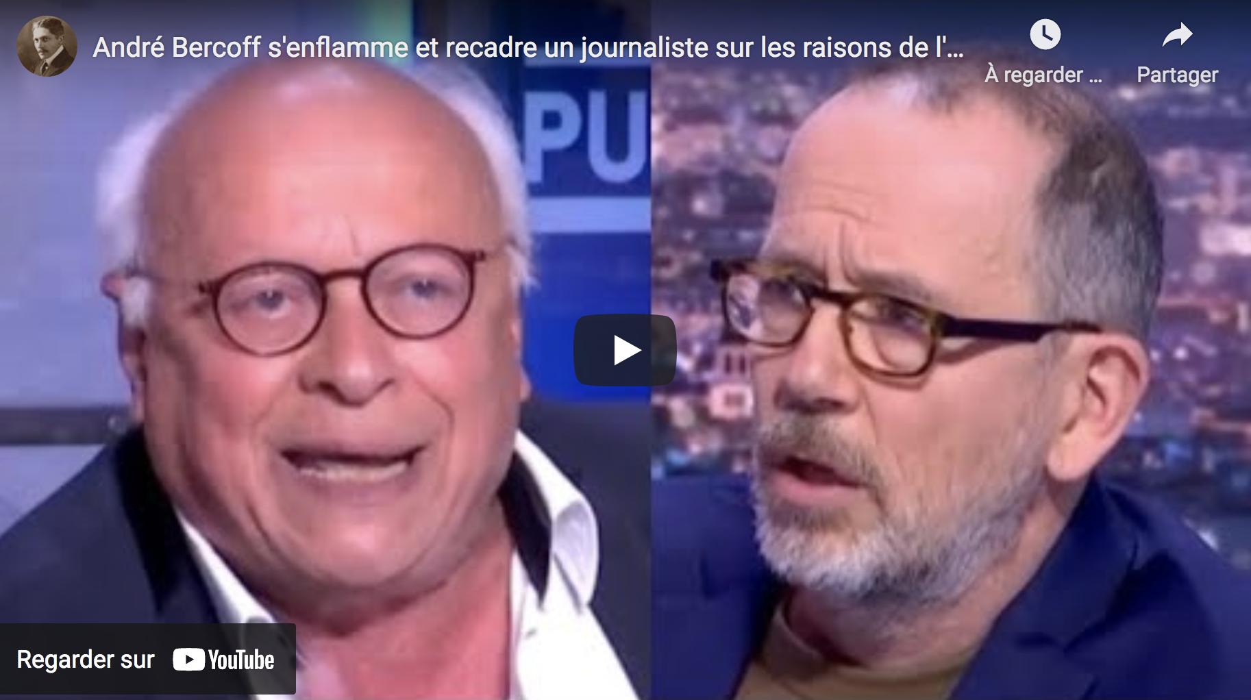 André Bercoff s'enflamme et recadre un journaliste sur les raisons de l'abstention aux régionales (VIDÉO)