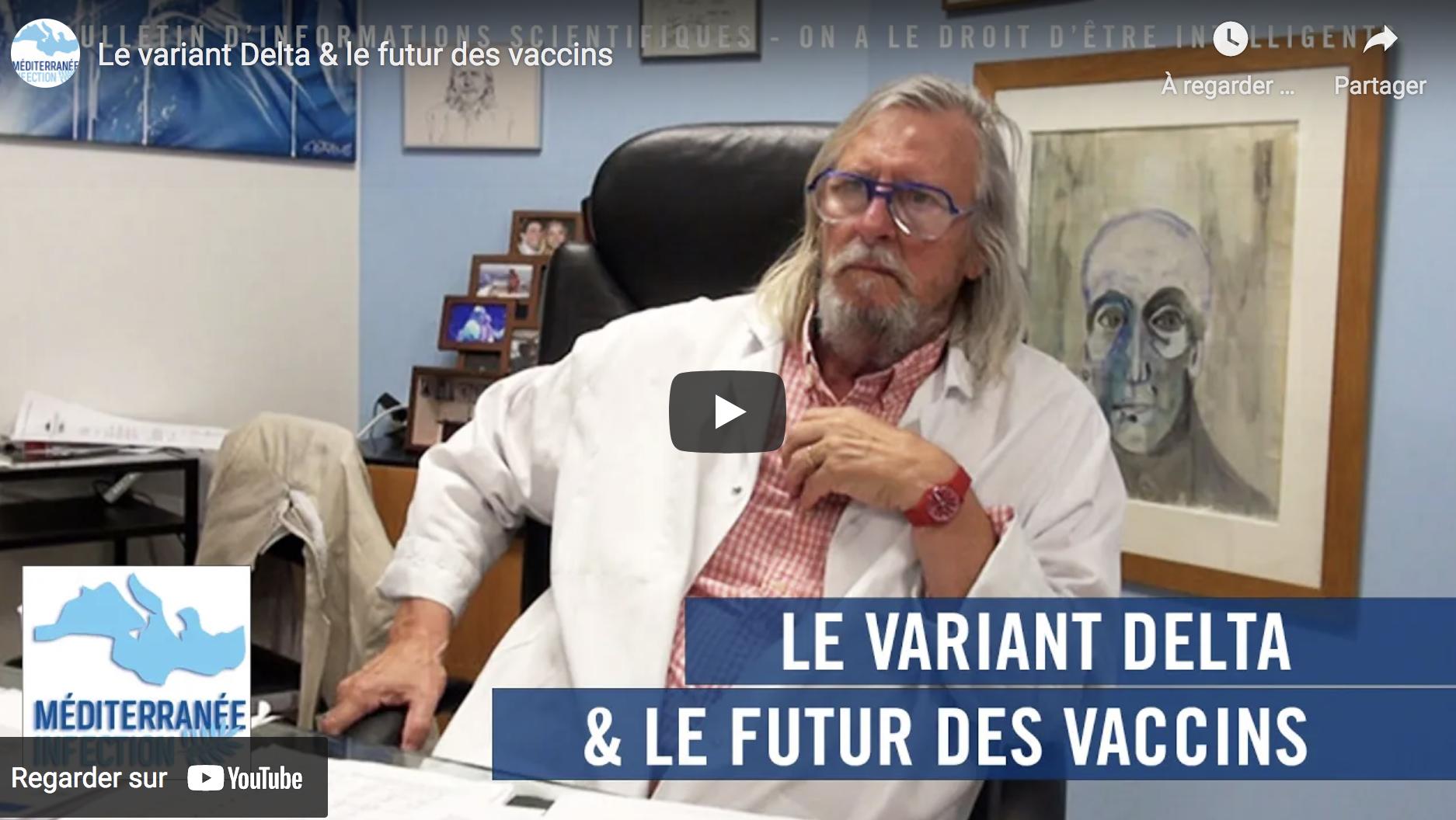 """Le Pr Didier Raoult inquiet : """"Il se passe des choses anormales avec ces 'vaccins' à ARN messager"""" (VIDÉO)"""