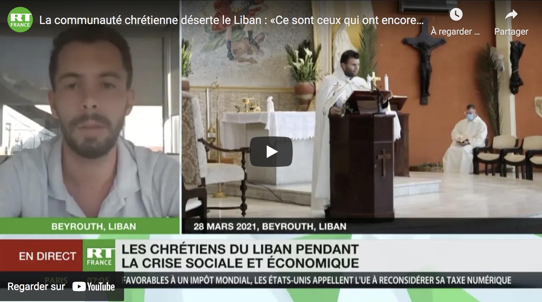 La communauté chrétienne déserte le Liban : « Ce sont ceux qui ont encore les moyens de partir » (VIDÉO)