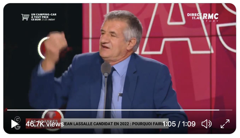 """Jean Lassalle : """"On n'ouvre pas de lits dans les hôpitaux, chez moi on en ferme, et on emmerde le peuple !"""" (VIDÉO)"""