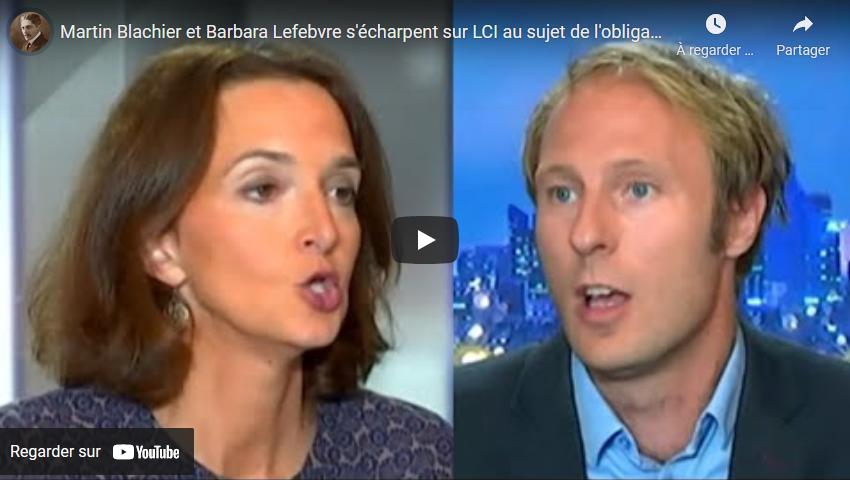 Martin Blachier et Barbara Lefebvre s'écharpent sur LCI au sujet de l'obligation vaccinale (VIDÉO)