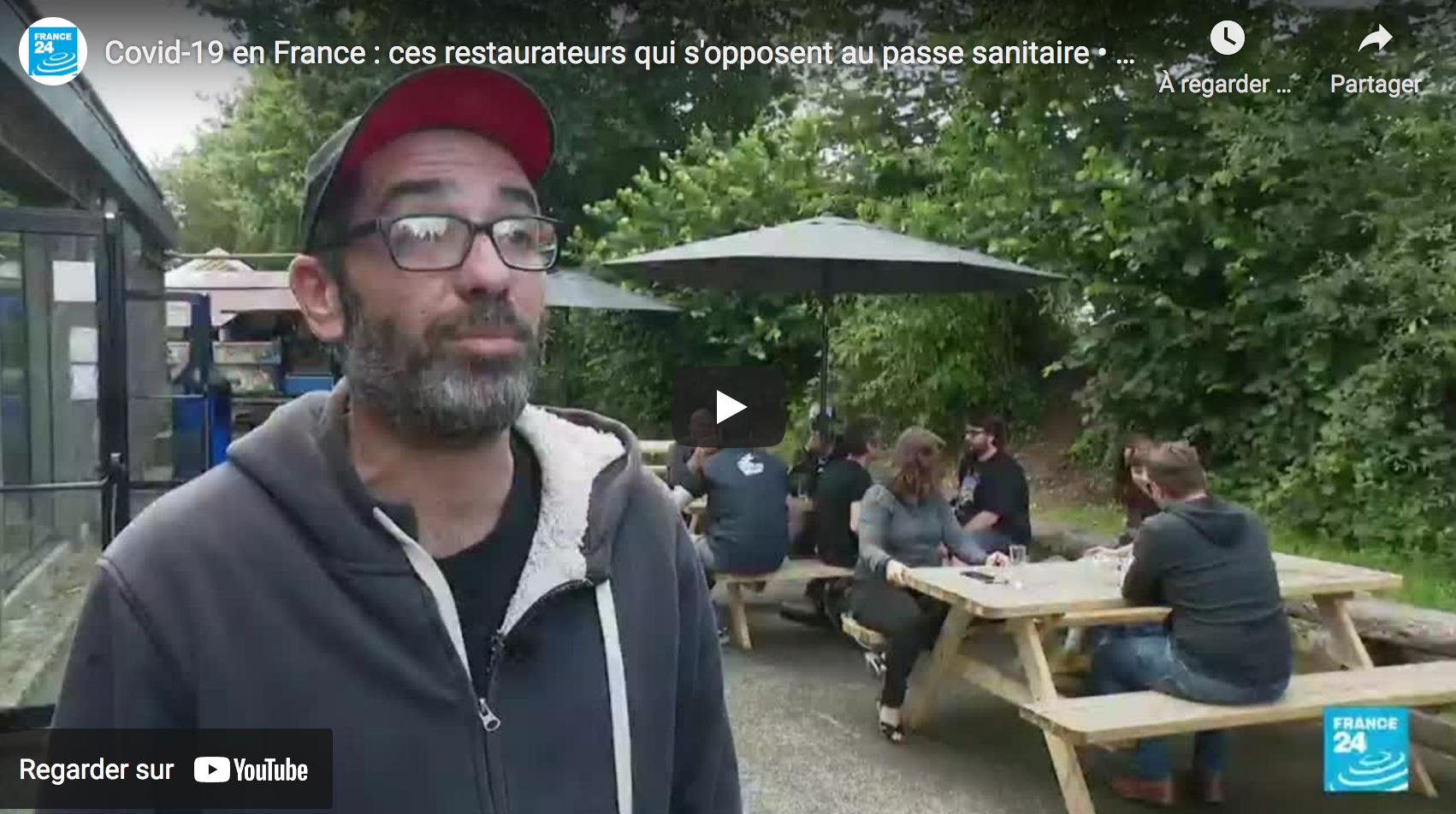 Covid-19 en France : ces restaurateurs qui s'opposent au passe sanitaire (RENCONTRE)