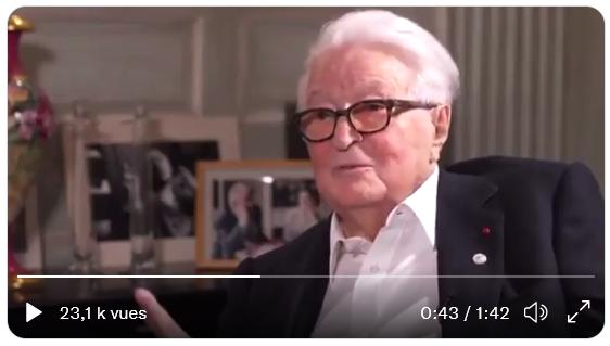 """Roland Dumas : """"Notre grande erreur a été de faire l'Europe"""" (VIDÉO)"""