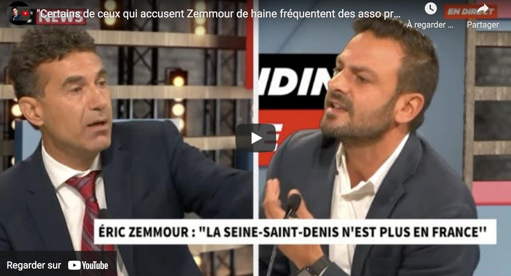 """Alexandre del Valle : """"Certains de ceux qui accusent Zemmour de haine fréquentent des asso pro islamiste !"""" (VIDÉO)"""