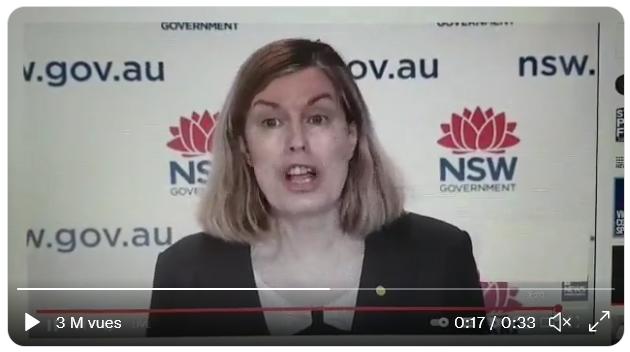 Kerry Chant, le chef de la santé publique en Nouvelles-Galles du Sud (Australie) : « Nous allons examiner à quoi ressemble le traçage des contacts dans le Nouvel Ordre Mondial » (VIDEO)