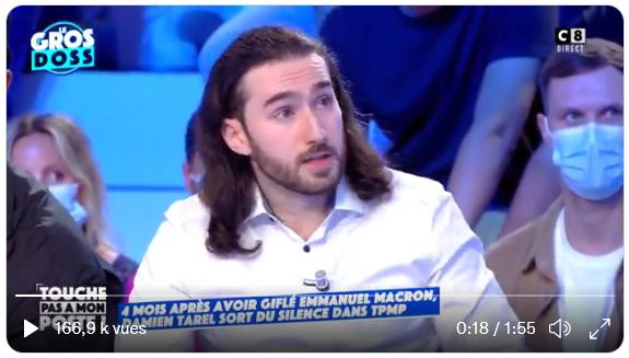 Il a giflé Macron : Damien Tarel raconte ! (VIDEO)