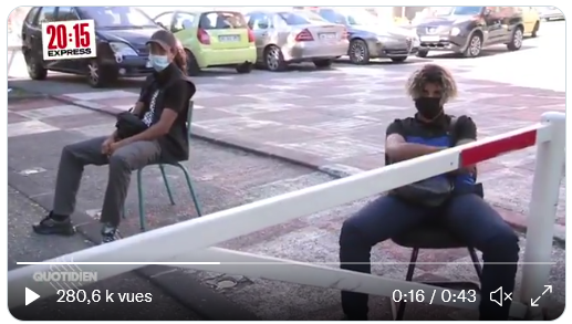 """Un dealer de la cité des Flamants à """"Quotidien"""" : """"Vous voyez Macron ? Les Français lui obéissent. Bah ici c'est pareil : les gens qui veulent entrer dans le quartier, ils nous obéissent"""" (VIDÉO)"""