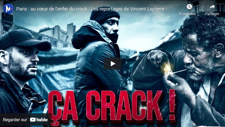 Paris : au cœur de l'enfer du crack (Les reportages de Vincent Lapierre)