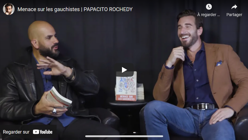 Menace sur les gauchistes : Papacito discute avec Julien Rochedy (VIDÉO)